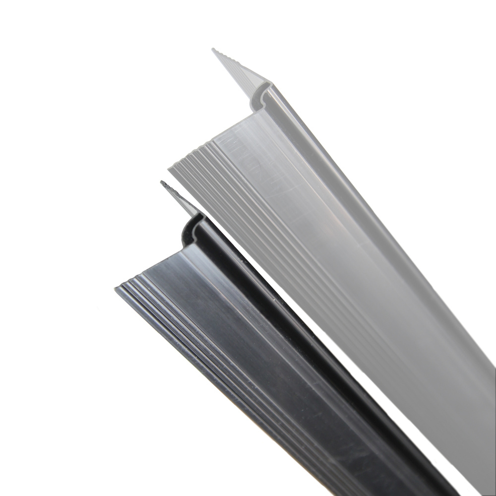 fensoplate composite Fensoplate Composite Kit 3D M:55 H:153 cm V-Small Graphite Black