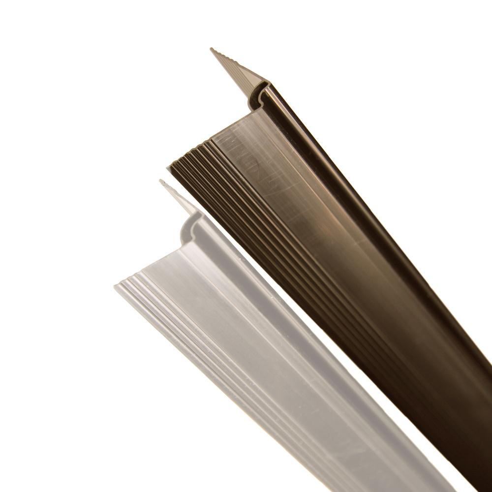 fensoplate composite Fensoplate Composite Kit 3D M:55 H:153 cm V-Large Wenge Brown