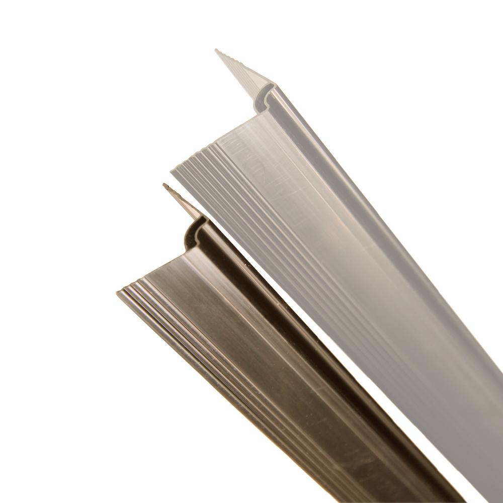 fensoplate composite Fensoplate Composite Kit 3D M:50 H:153 cm V-Small Wenge Brown