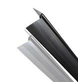 fensoplate composite Fensoplate Composite Kit 3D M:50 H:203 cm V-Large Graphite Black