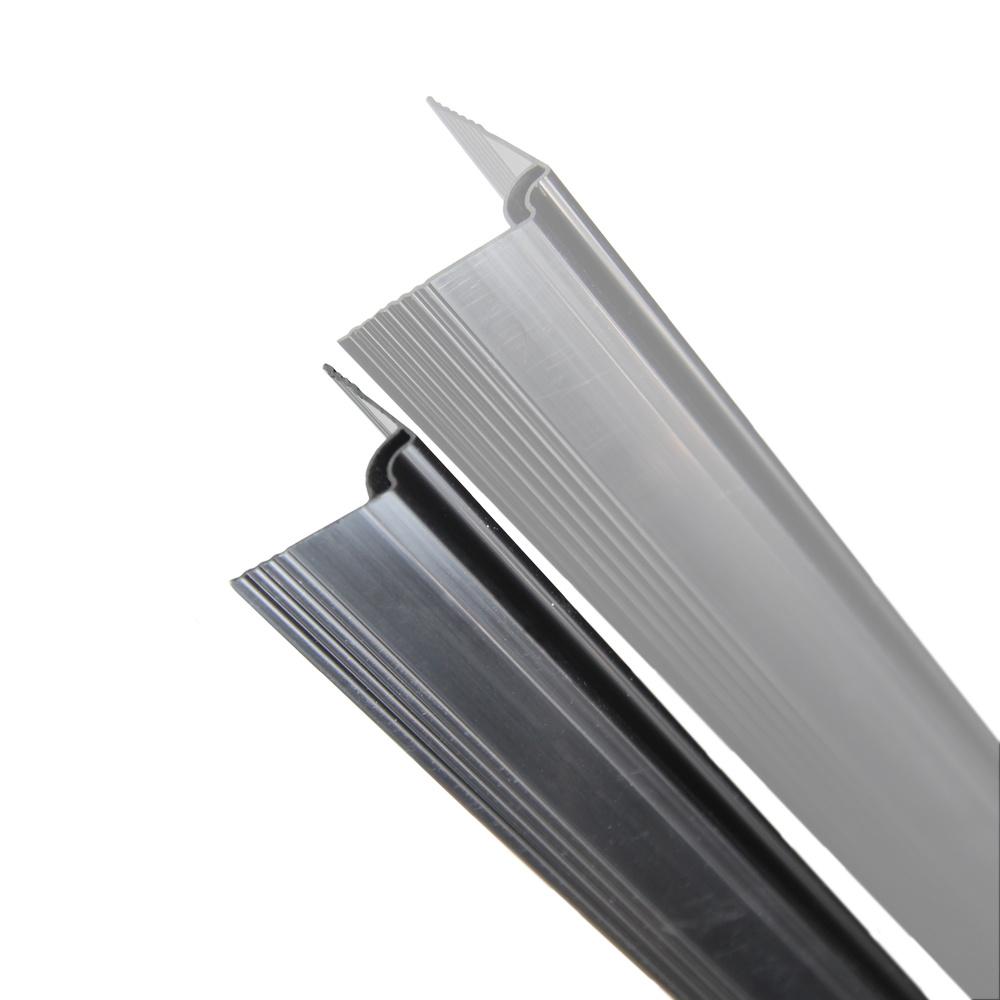 fensoplate composite Fensoplate Composite Kit 3D M:50 H:123 cm V-Small Graphite Black