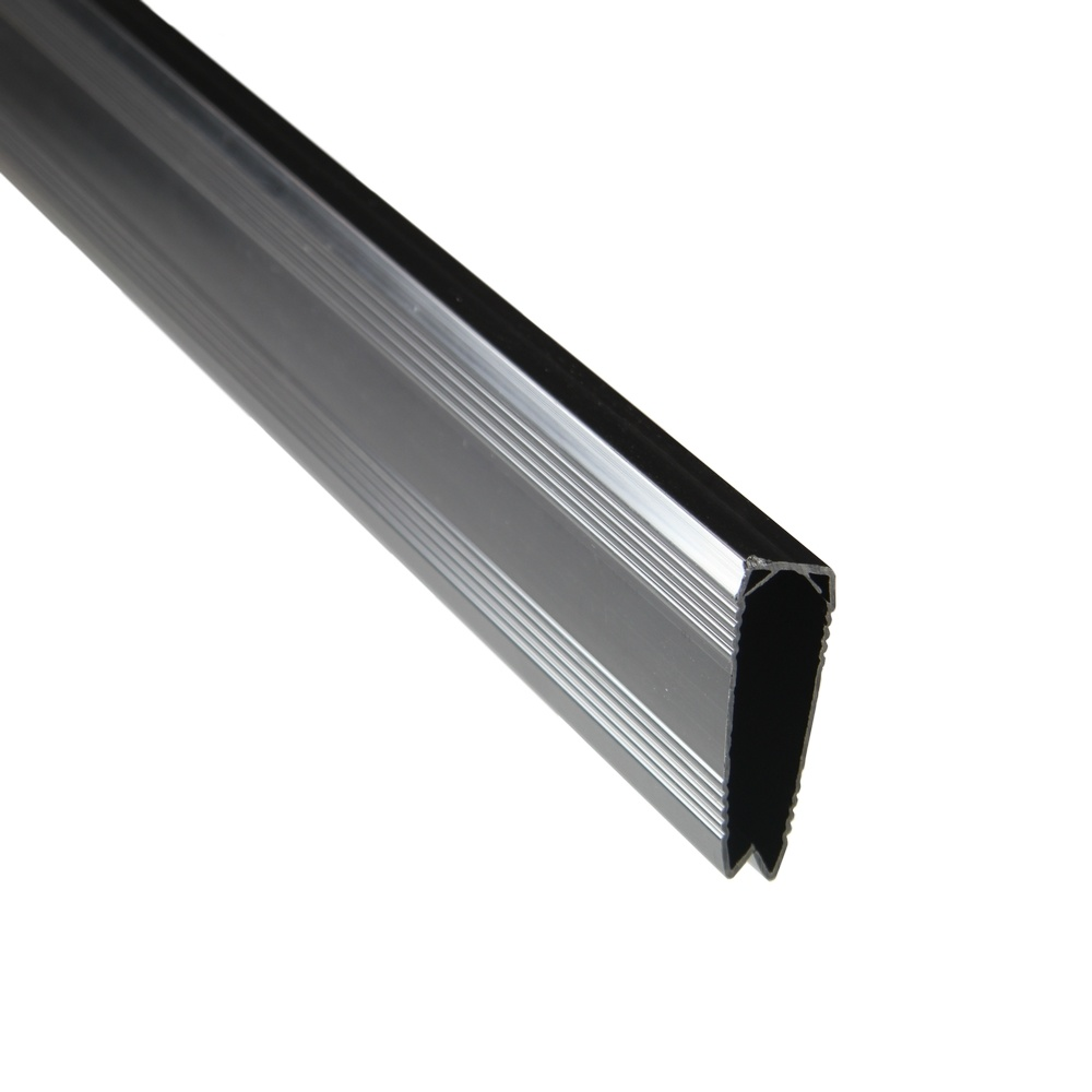 fensoplate composite Fensoplate Composite Kit 3D M:50 H:173 cm V-Small Graphite Black