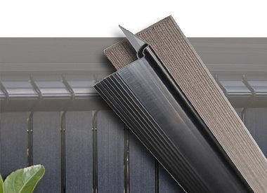 Fensoplate Composite in Einzelteilen
