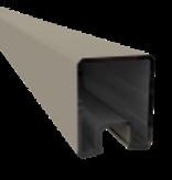 Duo Fuse U-profiel ALU L:200cm Stone Grey