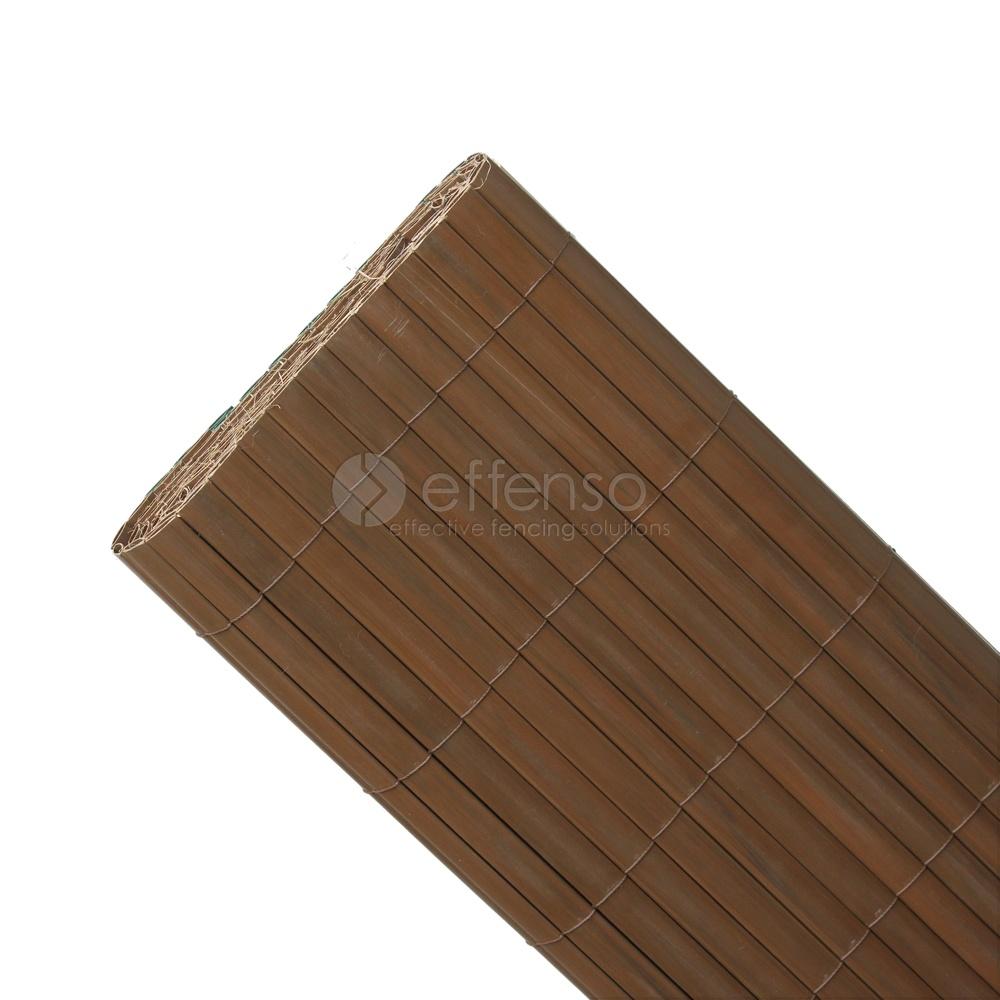 fensoscreen Fensoscreen Tropisch Bruin L:300 h:100cm