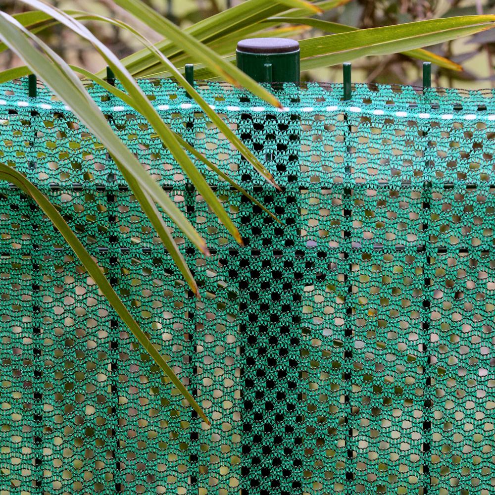 fensonet FENSONET Wind permeable GREEN H:120cm L:25m