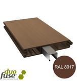 Duo Fuse Vlakke plank tand en groef L:180cm tropical brown