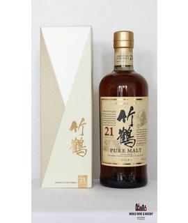 Nikka Whisky Taketsuru Nikka Yoichi/Miyagikyo 21 Year Old 43.0%