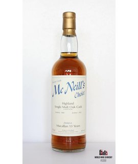 Macallan Macallan 13 Year Old 1989 2002 Mc Neill's Choice 46.0%