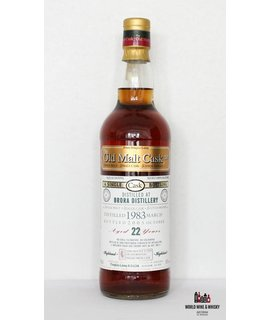 Brora Brora 22 Years Old Douglas Laing 1983 2005 Old Malt Cask 50%