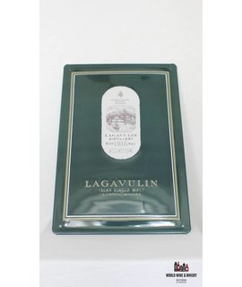 Lagavulin IJzeren Lagavulin reclamebord (billboard plate sign)