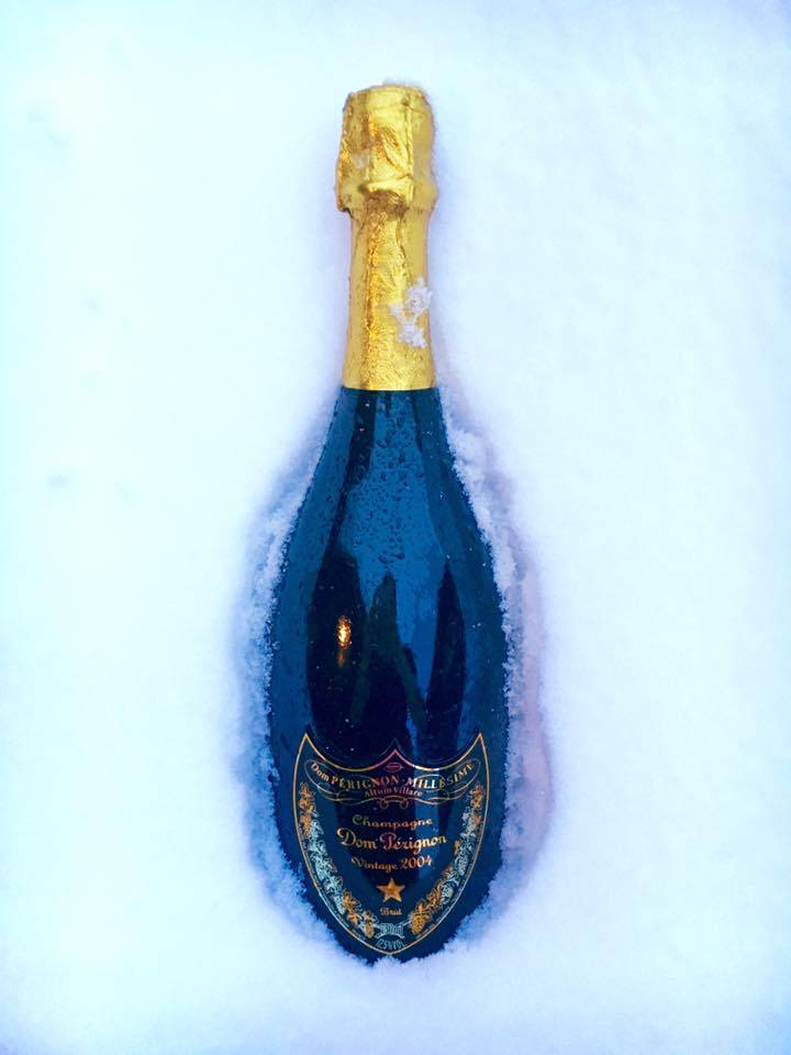 Dom Pérignon 2004 by Jeff Koons Edition.