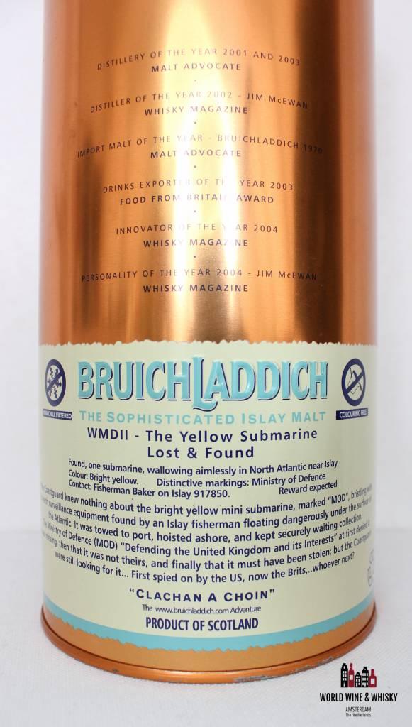 Bruichladdich Bruichladdich 14 Years Old The Yellow Submarine 1991 2005 46%