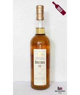Brora Brora 32 jaar oud 1978 2011 54.7%