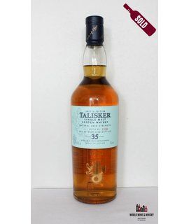 Talisker Talisker 35 Years Old 1977 2012 54.6% Limited Edition