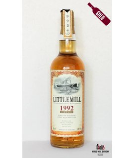 Littlemill Littlemill 22 Years Old 1992 2014 Old Passenger Ships - Jack Wiebers - Whiskyschiff 49.1%