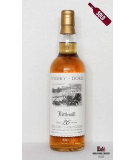 Littlemill Littlemill 26 Year Old Whisky-Doris 1988 2014  51.6%