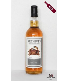 Littlemill Littlemill 25 Year Old Archives 1988 2014 51.9%