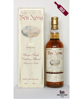 Ben Nevis Ben Nevis 40 Years Old 1962 2002 Blended at Birth - Rolling Stones 40%