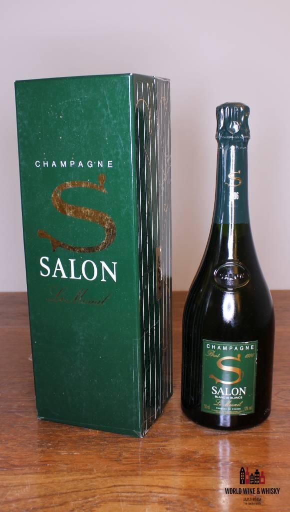 The Salon Blanc de Blancs Le Mesnil 1996 at World Wine & Whisky ...