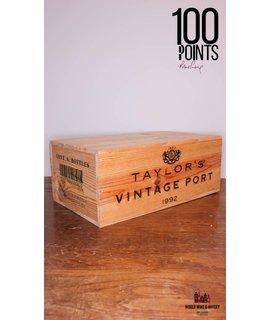 Taylor's Fladgate Taylor's Fladgate Vintage Port 1992 - 100 Parker Points (in OWC)
