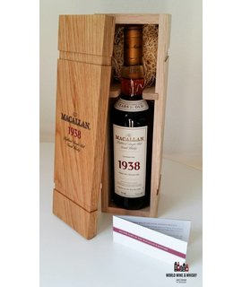 Macallan Macallan 31 Years Old 1938 1969 (Re-Bottled 2002) Fine & Rare 43% (in OWC)