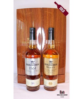 Highland Queen Highland Queen '1561 – The Century Edition' 50 Years Old (blended), 52 Years Old (single malt) 40%