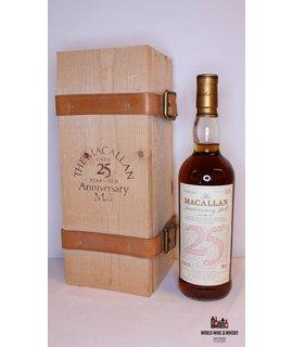 Macallan Macallan 25 Years Old 1968 1994 The Anniversary Malt 43% (in OWC)