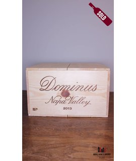 Dominus Dominus Estate Christian Moueix Napa Valley  2013 - 100 Parker Points (in OWC)