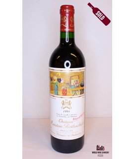 Mouton Rothschild Mouton Rothschild 1991