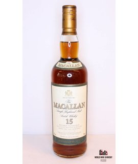 Macallan Macallan 15 Years Old 1984 2000 Green - Sherry Oak Cask 43%