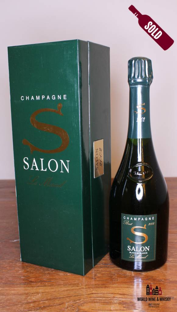 The Salon Blanc de Blancs Le Mesnil 2002 at World Wine & Whisky ...