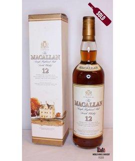 Macallan Macallan 12 Years Old Sherry Oak Casks from Jerez 40%