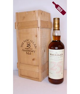 Macallan Macallan 25 Years Old 1974 1999 The Anniversary Malt 43% (in OWC)