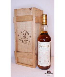 Macallan Macallan 25 Years Old 1968 1993 The Anniversary Malt 43% (in OWC)