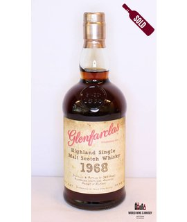 Glenfarclas Glenfarclas 41 Years Old 1968 2010 Handwritten label 49.7%