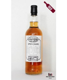 Springbank Springbank 7 Years Old 2007 Open Day 2015 56.9%