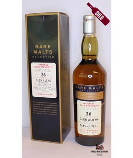 Glen Albyn Glen Albyn 26 Years Old 1975 2002 Rare Malts Selection 54.8%