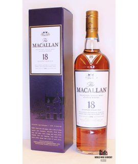 Macallan Macallan 18 Years Old 1996 2014 Sherry Oak Casks 43%