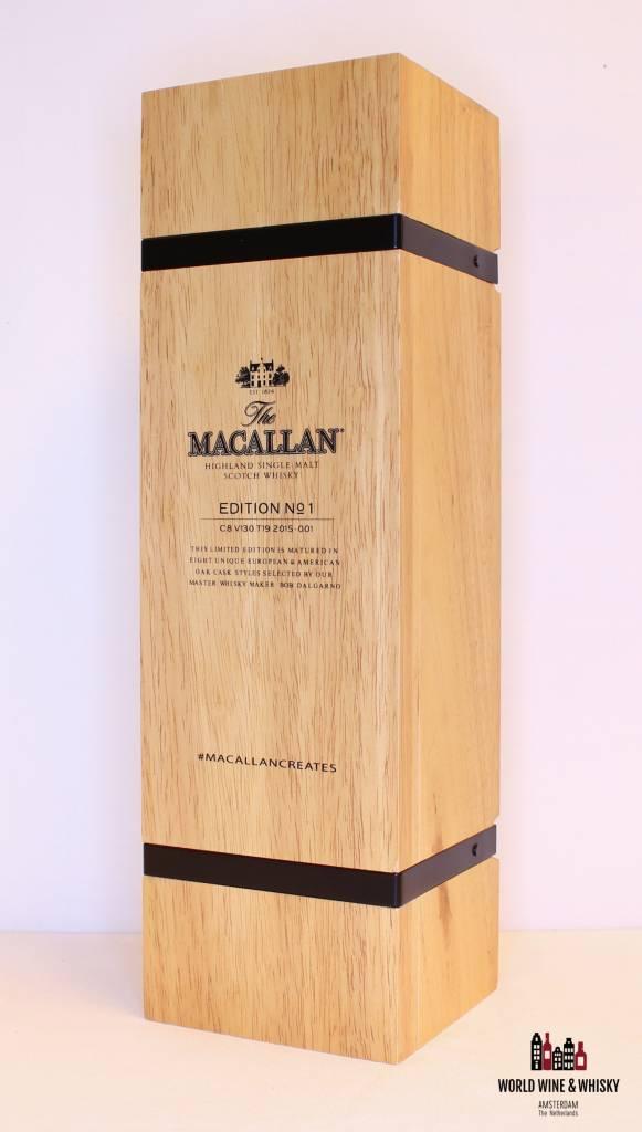 Macallan Macallan No 1 Edition 2015 48% (in wooden box)