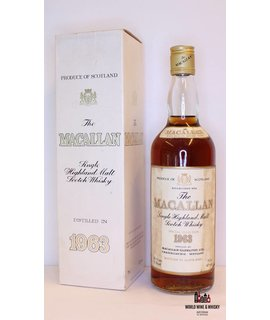 Macallan Macallan 1963 Special Selection - Sherry Wood 43% (75.7cl Edition)