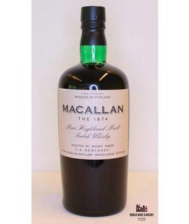 Macallan Macallan 1874 Replica 2002 45% (75cl edition)