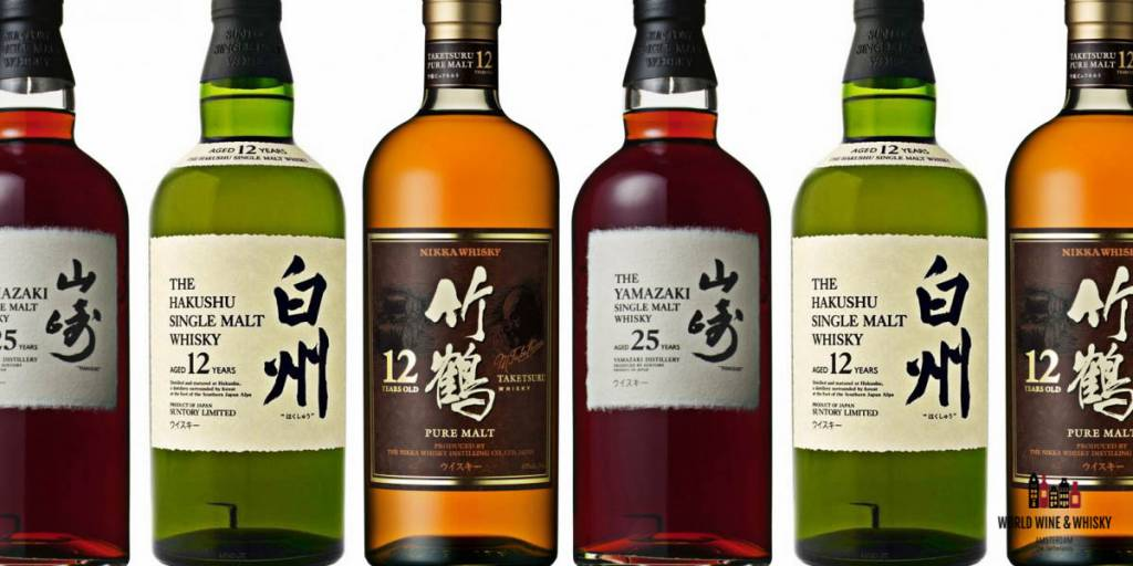 Wij zijn op zoek naar alle Japanse whisky's.