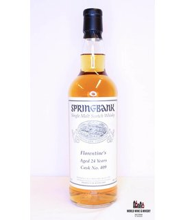 Springbank Springbank 24 Years Old 1993 2017 Cask 409 Florentine's 49%