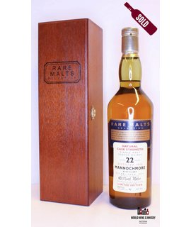Mannochmore Mannochmore 22 Years Old 1974 1997 Rare Malts Selection 60.1%