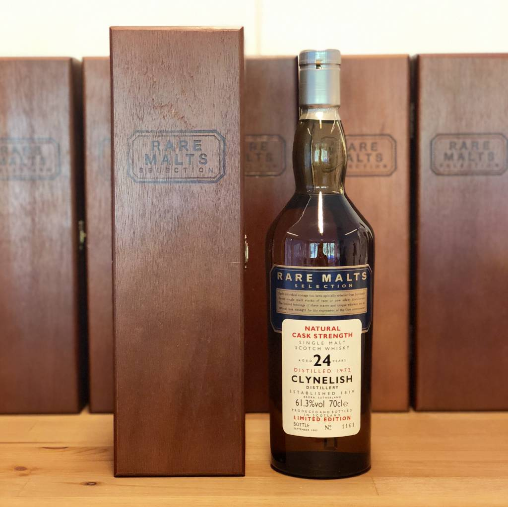 De Clynelish 24 Years Old 1972 1997 Rare Malts Selection 61.3% (in OHK)