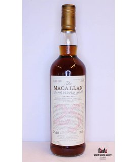 Macallan Macallan 25 Years Old 1972 1998 The Anniversary Malt 43% (without wooden box)
