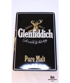 Glenfiddich IJzeren Glenfiddich Pure Malt Scotch Whisky reclamebord