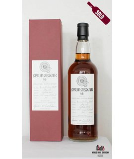 Springbank Springbank 18 Year Old 1997 2015 Society Bottling 58.9%