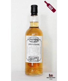 Springbank Springbank 9 Years Old 2006 Open Day 2016 58.7%